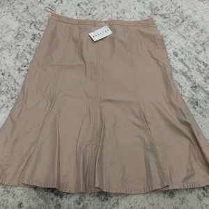NWT spanner copper shimmer skirt